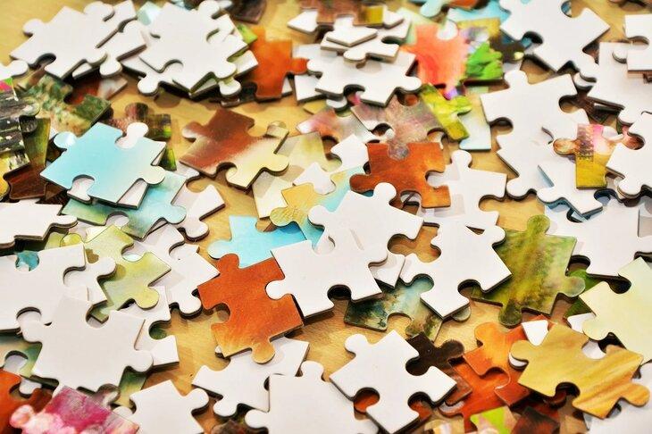 stress verlagen door verschillende puzzels te maken